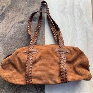 Donald J. Pliner shoulder bag with braided straps